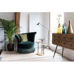 Flair Lounge Chair Donkergroen