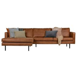 BePureHome Rodeo Chaise Longue Links Cognac