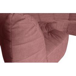 Woood Bag Hoekelement Fluweel Roze