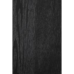 White Label Living Counter Stool Aspen Wood Black