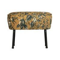BePureHome Vogue Hocker Poppy Geel