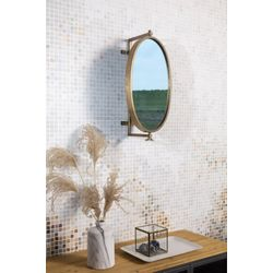 White Label Living Mirror Lara Brass