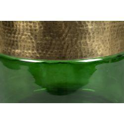 Dutchbone Cave Side Table Green