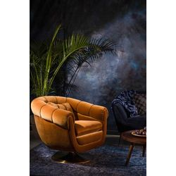 Dutchbone Member Lounge Chair Whiskey