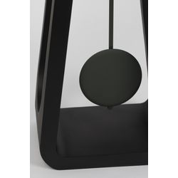 Zuiver Giant Klok Zwart