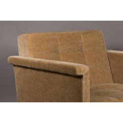 Dutchbone Sir William Lounge Chair Vintage Camel