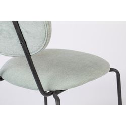 White Label Living Chair Aspen Light Green