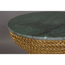 Dutchbone Gauri Side Table Gold