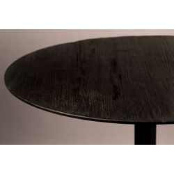 Dutchbone Braza Bistro Tafel Round Zwart
