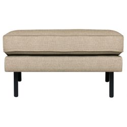 BePureHome Rodeo Stretched Hocker Sahara