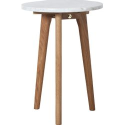 Zuiver White Stone Side Table S