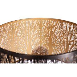 Woood Keto Vloerlamp Metaal Zwart Antique Brass