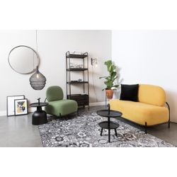 White Label Living Lounge Chair Polly Green