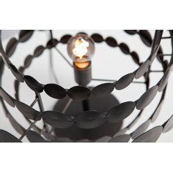 Woood Kaki Tafellamp Metaal Zwart