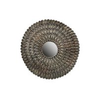 BePureHome Husk Spiegel Metaal Antique Brass