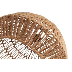 Woood Kace Hanglamp Jute Naturel