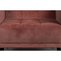 Dutchbone Sir William Lounge Chair Vintage Roze