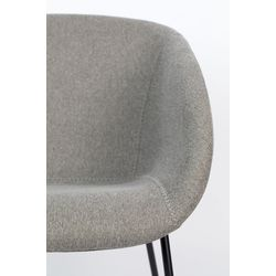 Zuiver Feston Lounge Chair Grijs