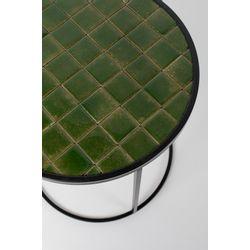 Zuiver Glazed Bijzettafel Groen