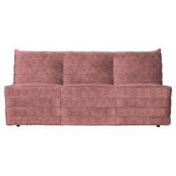 Woood Bag Bank Fluweel Roze