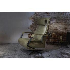 Elektrische Relax Fauteuil Leer.Groene Stoel Leer Online Bestellen Living27