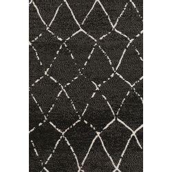 Zuiver Crossley Outdoor Vloerkleed Zwart - 170 x 240 CM