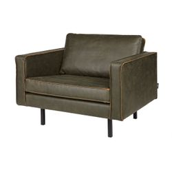 BePureHome Rodeo Fauteuil Army