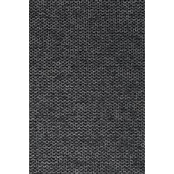 White Label Living Chair Jolien Black/Dark Grey