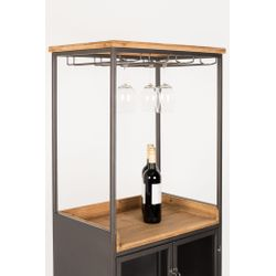 White Label Living Cabinet Damian High