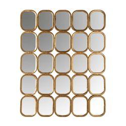 Richmond Interiors Spiegel Marila met 25 spiegels (Goud)