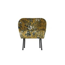 BePureHome Vogue Fauteuil Poppy Mosterd