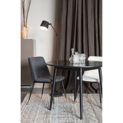 White Label Living Table Fabio 100' Black