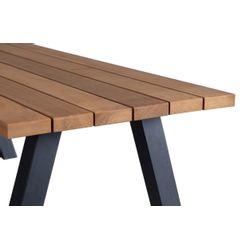 Woood Tablo Outdoor Eettafel Naturel - 210 CM