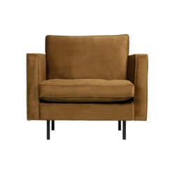 BePureHome Rodeo Classic Fauteuil Honing Geel