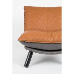 Zuiver Lazy Sack Lounge Chair Bruin