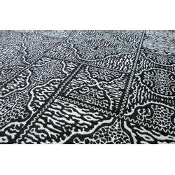 Woood Renna Vloerkleed Zwart Wit - 155 x 230 CM
