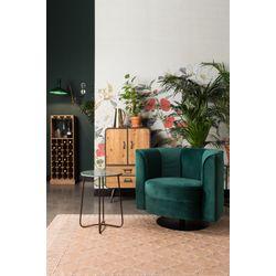 Dutchbone Flower Lounge Chair Groen