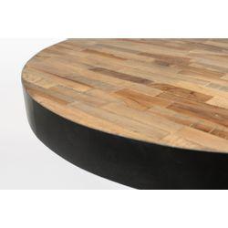 White Label Living Bistro Table Maze Round Natural