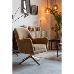 Dutchbone Robusto Lounge Chair Caramel