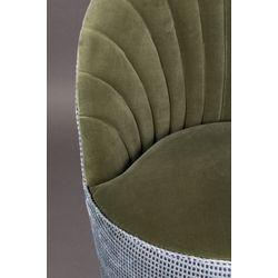Dutchbone Madison Lounge Chair Olijfgroen