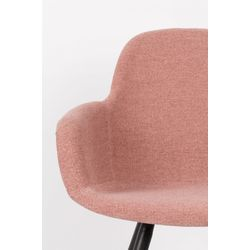 Zuiver Albert Kuip Armstoel Soft Pink