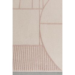 Zuiver Bliss Vloerkleed Roze - 160 x 230 CM