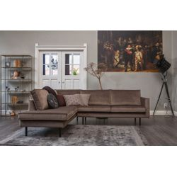 BePureHome Rodeo Hoekbank Links Taupe
