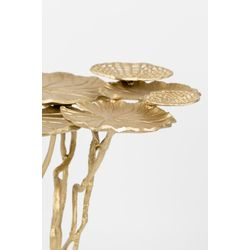 White Label Living Side Table Lily Multi Gold