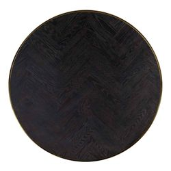 Richmond Interiors Salontafel Blackbone gold set van 2 rond (Goud)