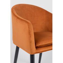 White Label Living Armchair Catelyn Orange