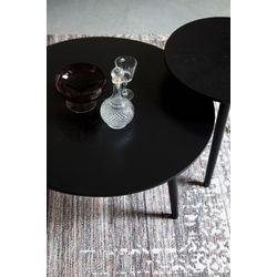 White Label Living Coffee Table Fabio Black