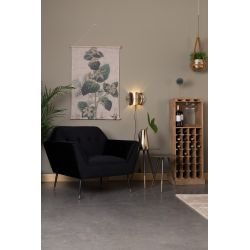 Dutchbone Kate Lounge Chair Zwart