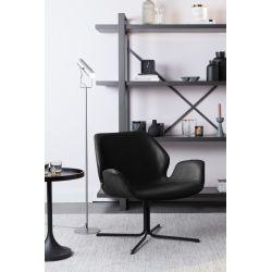 Zuiver Nikki Lounge Chair Zwart