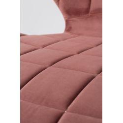 Zuiver OMG Stoel Roze Velvet